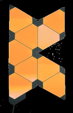 KALLE CO2 Sensor Nanoleafs gelb