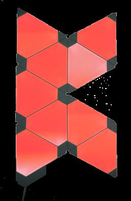KALLE CO2 Sensor Nanoleafs rot