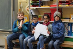 PTSGroup_KALLE macht Schule_Die Schulkinder aus der Uphuser Straße freuen sich über KALLE